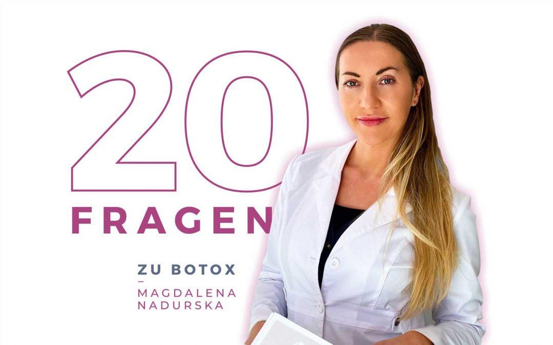 20 Fragen zu Botox